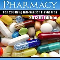 Pharmacy Top 200 Drug Information Flash Cards - Lite