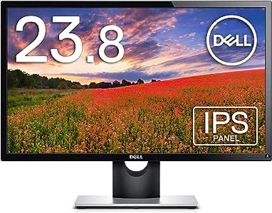 【Amazon.co.jp 限定】Dell モニター 23.8インチ SE2416H(3年間交換保証/CIE1976 84%/広視野角/フレームレス/フルHD/IPS非光沢/HDMI,D-Sub15ピン)