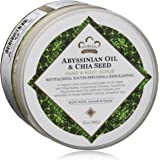 Nubian Heritage Abyssinian Oil & Chia Seed Body Scrub by Nubian Heritage for Unisex - 12 oz Body Scrub, 340 g