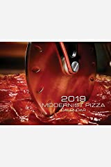 Modernist Pizza 2019 Wall Calendar Calendar