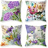 """Outdoor Pillow Covers Decor Home Decoration Throw Pillow Case 18X18 Inch Modern (Set of 1), Plant Fibres, G, 18""""x18"""""""