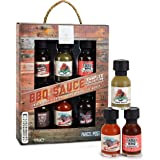 Modern Gourmet Foods, BBQ Sauce Collection, Variety 6 Pack, Flavours Include Root Beer BBQ Sauce, Jalapeno Wing Sauce, Tangy