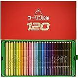 コーリン鉛筆 775六角 120色紙箱入り色鉛筆 775-120