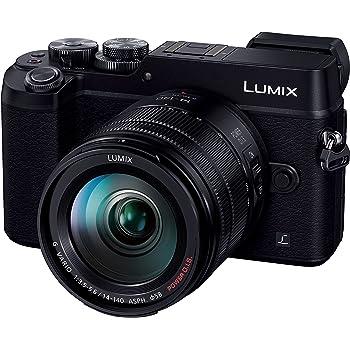 パナソニック ミラーレス一眼カメラ ルミックス GX8 レンズキット 高倍率ズームレンズ付属 2030万画素 ブラック DMC-GX8H-K