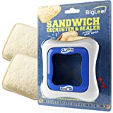 Sandwich Cutter, Sealer and Decruster for Kids - Remove Bread Crust, Make DIY Pocket Sandwiches - Non Toxic, BPA Free, Food G