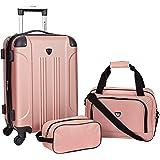 Travelers Club 3-4-5 Piece Set Sky+ Spinner Luggage Set