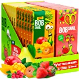Snacks Variety Pack for Kids Adults - 72 Bulk Healthy Fruit Roll Up Individual Packs of 3 for Kids Adults with Natural Strawb
