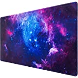 Gaming Mouse Pad, Canjoy Extended Mouse Pad, XXL Large Big Computer Keyboard Mouse Mat Desk Pad with Non-Slip Base and Stitch
