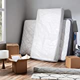 AmazonCommercial Moving and Storage Mattress Bag - Queen - 4 Mil - 1 Count