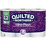 Quilted Northern Ultra Plush Toilet Paper, 6 Double Rolls, 154 3-Ply Sheets Per Roll