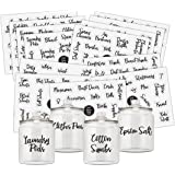 Good Karma Studio, 195 Laundry Room, Linen Closet, Home Office, Bathroom and Beauty Organization Labels + 15 Blank Labels, La