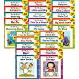 25 NEW Illustrated Sight Word Readers Phonics Teaching Supples Prek Scholastic 25 Books That Teach 50 Must-know Sight Words!!
