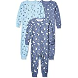 Hanes Ultimate Baby Zippin 3 Pack Sleep and Play Suits