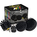 Ultra Stiff Drill Powered Cleaning Brushes Used for Heavy Duty Industrial Stripping and Grill Cleaning by Drillbrush