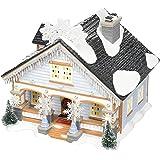 "Department 56 Original Snow Village The Snowflake Light House, 6.7"""