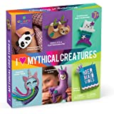 Craft-tastic – I Love Mythical Creatures Kit – Craft Kit Includes 6 Projects Featuring Mythical Creatures