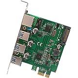 Syba SD-PEX50100 3 Port USB 3.1 Gen 1 and Gigabit Ethernet PCI-e 2.0 x1 Card