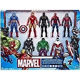 Marvel Avengers Action Figures - Iron Man, Hulk, Black Panther, Captain America, Spider Man, Ant Man, War Machine & Falcon! (