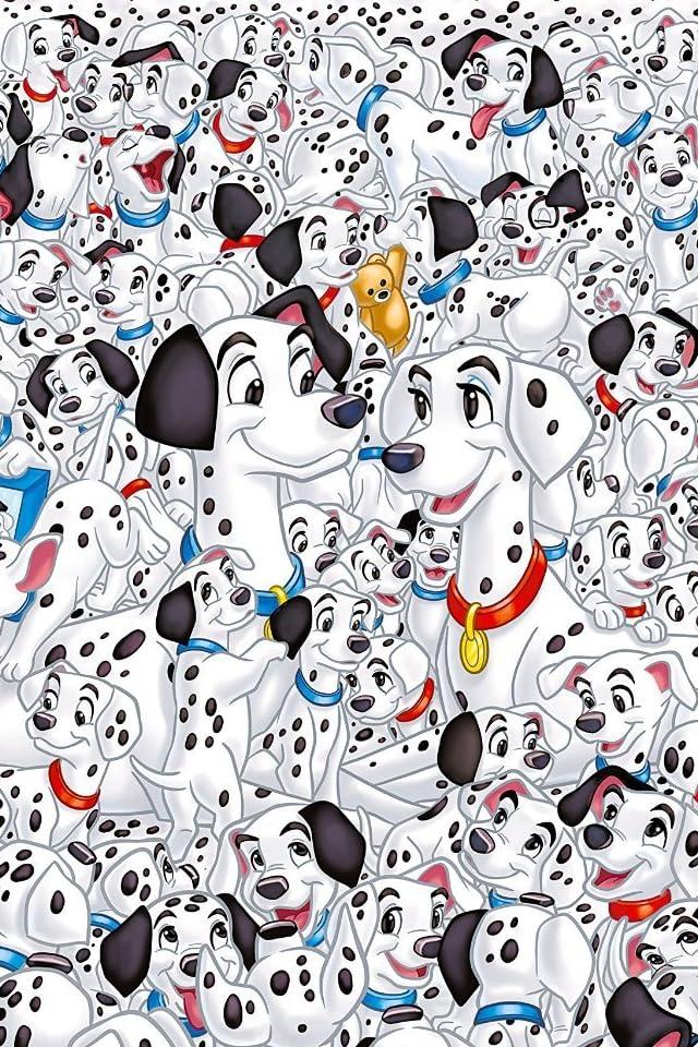 ディズニー 101匹わんちゃん iPhone(640×960)壁紙画像