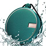 INSMY Portable IPX7 Waterproof Bluetooth Speaker, Wireless Outdoor Speaker Shower Speaker, with HD Sound, Support TF Card, Su