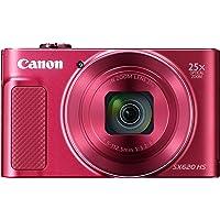Canon コンパクトデジタルカメラ PowerShot SX620 HS レッド 光学25倍ズーム/Wi-Fi対応 P…