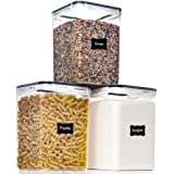 Large Food Storage Containers with Lids Airtight 5.2L /175Oz, for Flour, Sugar, Baking Supply and Dry Food Storage, PantrySta