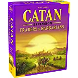 Catan Studios Traders & Barbarians Expansion (5th Ed), Multi-Colored, Standard (CN3079)