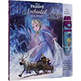 Disney Frozen 2 Elsa, Anna, Olaf and More! - Enchanted Journey - Sound Book and Interactive Sound Flashlight Toy Set - PI Kid