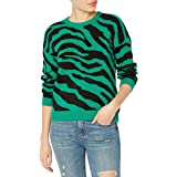 BB DAKOTA Junior's You're an Animal Zebra Sweater
