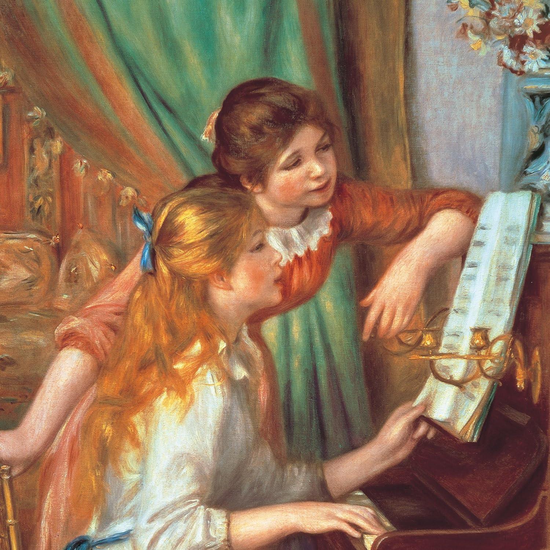 絵画 ルノワール ピアノを弾く少女たち Ipad壁紙 画像48555 スマポ
