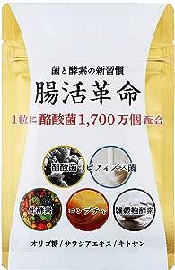腸活革命 菌と酵素の新習慣 サプリメント 酪酸菌 ビフィズス菌 31日分