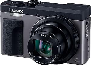 パナソニック コンパクトデジタルカメラ ルミックス TZ90 光学30倍 4K動画記録 シルバー DC-TZ90-S
