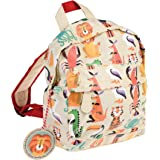 Rex London Colourful Creature Mini Backpack - Animal Lover Bags - Padded Kids Bag with Adjustable Straps for Comfort - Bookba