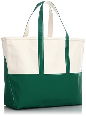 Boat and Tote Bag L 11-61-1021-593: Green
