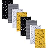 Gerber Baby-Boys 8-Pack Flannel Burp Cloth Baby-Bibs