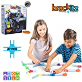 Brackitz Bugz STEM Discovery Building Toy for Kids 3, 4, 5, 6+ Years Old Fun Creative Learning Toys for Boys & Girls Best Chi