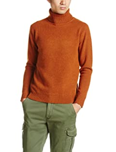 Hamilton Lambswool Turtleneck Sweater 116-04-0032: Brown