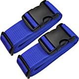 """TRANVERS Heavy Duty Luggage Strap For Suitcase 16""""~32"""" With Built-in Address Tag"""