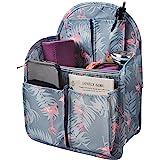 Vercord Backpack Organizer Insert Inside Travel Hanging Nylon Multiple Pockets Liner Divider