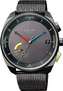 [シチズン] 腕時計 エコ・ドライブ 光発電スマートウォッチ Eco-Drive Riiiver BZ7005-74E メンズ ブラック