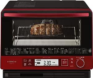 日立 スチームオーブンレンジ MRO-TW1 R 30L 熱風2段オーブン 過熱水蒸気 Wスキャン調理 ワイド&フラット庫内 外して丸洗いテーブルプレート メタリックレッド