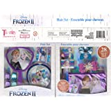 Townley Girl Disney Frozen Mega Hair Foldable Gift Set for Parties, Sleepovers and Makeovers