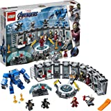 LEGO Marvel Avengers Iron Man Hall of Armor 76125 Toy Building Kit, New 2019 (524 Pieces)