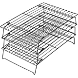 "Wilton Excelle Elite 3-Tier Cooling Rack, 15 7/8"" X 9 7/8"", Black (2105-459)"