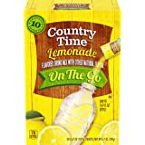 Country Time Sugar-Sweetened Lemonade Drink Mix (60 On-The-Go Packets, 0.67 Ounce (Pack of 60))