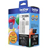 Brother Genuine High Yield Black Ink Cartridges, LC2032PKS, Replacement Black Ink Two Pack, Includes 2 Cartridges of Black In