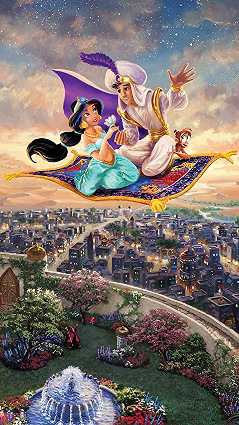ディズニー アラジン,ジャスミン,アブー XFVGA(480×854)壁紙 画像41882 スマポ