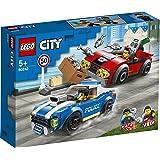 LEGO City Police Highway Arrest 60242 Police Toy, Fun Building Set for Kids