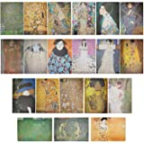 The Gifted Stationary Gustav Klimt Posters (13x19in, 20 Pack)