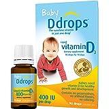 Ddrops Baby 400 IU, Vitamin D, 90 Drops 2.5mL (0.08 Fl. Oz (Pack of 1))